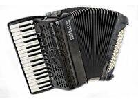 Double Cassotto - Moreschi Masterpiece 34 Keys / 96 Bass Musette - Italian Piano Accordion