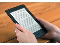 Books for Kindle, eReaders and Apps -Very latest titles - Ask?