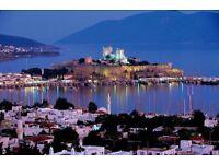 2 x Return Flights Edinburgh to Bodrum (Turkey)