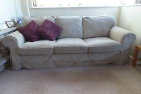 IKEA Ektorp three seater sofa