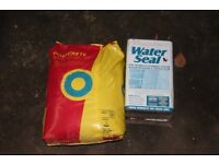 bag of concrete post and thompson water seal