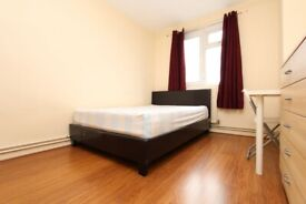 🆕4 BED FLAT IN HOXTON WITH LIVING ROOM! DOUBLE ROOM SINGLE USE- ZERO DEPOSIT APPLY- #Fellows