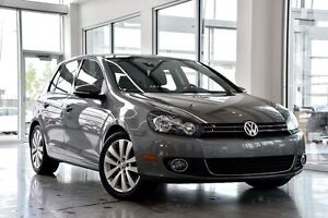 2013 Volkswagen Golf Wolfsburg Edition 2.5L / BLUETOOTH / TOIT