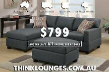 BRAND NEW $799 MODERN SOFA-LOUNGE-COUCH St Albans Brimbank Area Preview