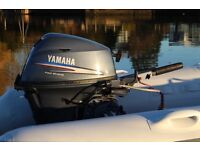 *SOLD* 2008 Yamaha 20hp short shaft four stroke outboard for rib or inflatable *SOLD*