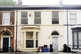 44 Rufford Rd Fl2, Kensington, Liverpool. 1 bedroom flat, close to all amenities. LHA welcome.
