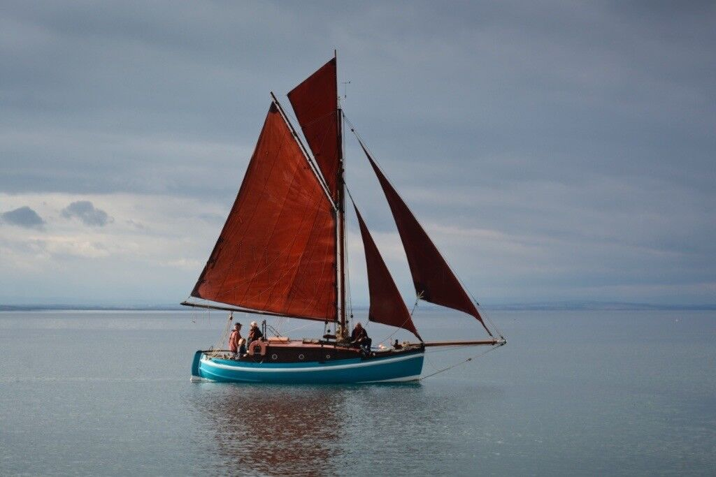 Classic Wooden Sailing Boat 26ft Gaff Rig Cutter Double Ender In Anstruther Fife Gumtree