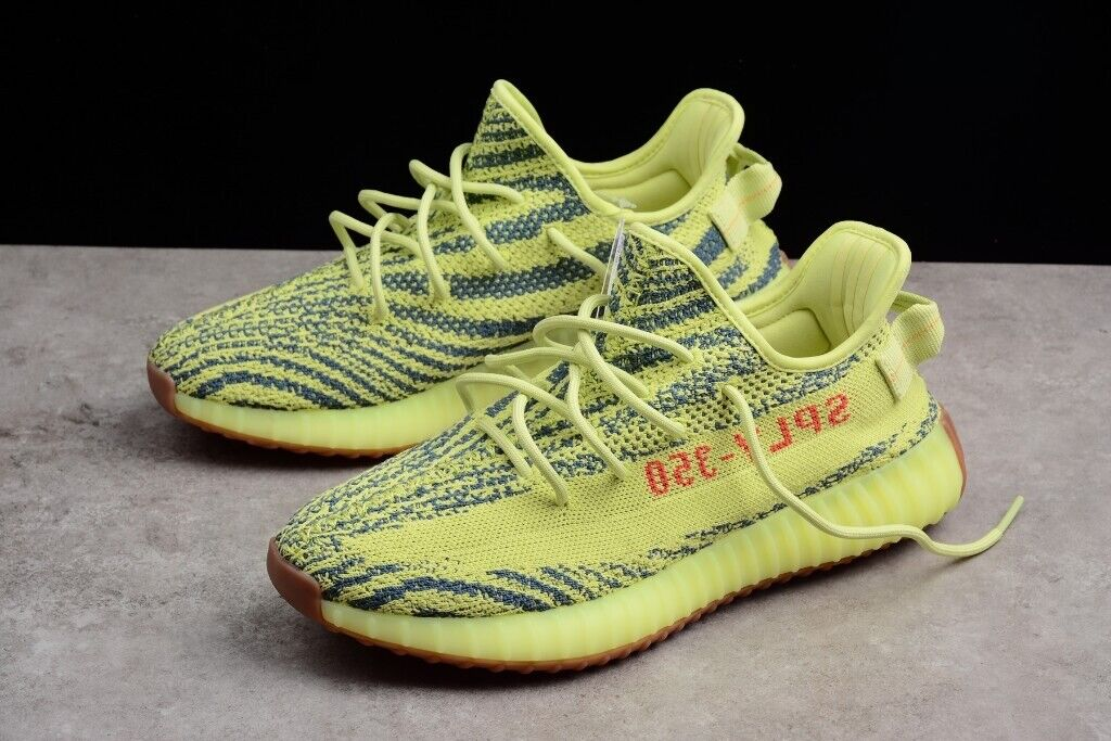 official photos 7d026 f5d7e ADIDAS YEEZY BOOST 350 V2 [ SEMI FROZEN YELLOW | UK 8.5 | EUR 42 2/3 ]  AUTHENTIC | in Chiswick, London | Gumtree