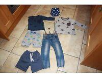 Boys clothes bundle age 2-3 H&M/Monsoon
