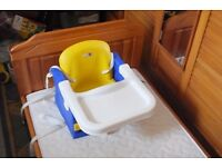 "Child's ""Portable Travel"" High Chair/Booster Seat"