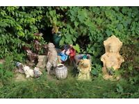 Previous Owner Furniture Sale - Garden Ornaments and Gnomes - £5 ONO