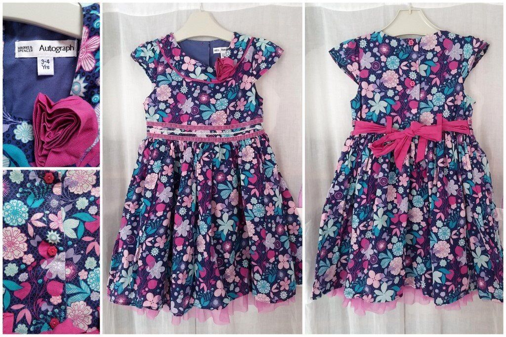 Girls 3-4 yrs party dress M&S as new   in Southmead, Bristol   Gumtree