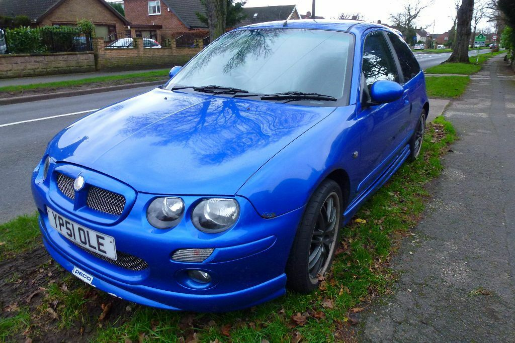 mg zr 160 vvc in trophy blue in long eaton nottinghamshire gumtree. Black Bedroom Furniture Sets. Home Design Ideas