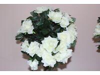 Artificial Standard Rose Trees (2)