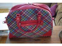 Gorgeous Ness Tartan Weekend Bag