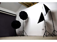 10% off booking £25/ LONDON Photo Studio Hire - Photography, Film, Casting, Rehearsal Space CHEAP