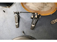 DW 4000 twin bass drum pedals. Excellent condition, little use.