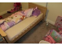 Matching children's bedroom furniture set