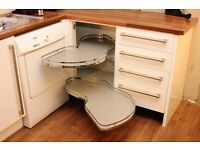 Nuvola Corner Pull-Out Shelving unit (right hand) for base cabinet 500mm door