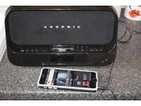 GRUNDIG DAB RADIO/IPOD DOCK/AUX IN PLAY IPODPHONE MUSIC DABANTENNA