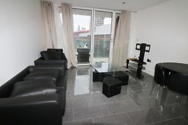 NEW BUILD & nicely decorated 2 bedroom flat**with balcony**located in Shadwell, London, E1.