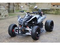 NEW 2016 250CC BLACK ROAD LEGAL QUAD BIKE ASSEMBLED IN UK FINANCE AVAILABLE, FREE NEXT DAY DELIVERY