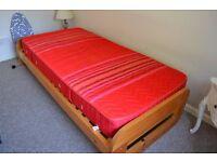 Single bed and Gplan wardrobe
