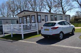 Luxury Platinum Graded Caravan sited on Haven's popular park in Burnham on sea. Prices from £230 /wk