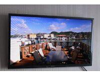 "Panasonic 55"" HD "" Full spec HD 3D "" TV as most 3DTV's are HALF HD"