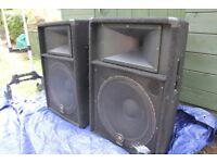 Yamaha S115V Passive Concert Club series speakers 1000 watt