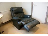 Leather Lazy-boy Armchair Recliner