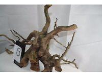 wooden roots for reptile , amphibians vivarium or fish tank