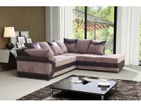RIVA 2 C 1 CORNER SOFA £349 GET FOOT STOOL FREE AMAZING QUALITY AND PRICE
