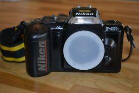 Nikon F-401s 35mm SLR + SIGMA Zoom Lenses