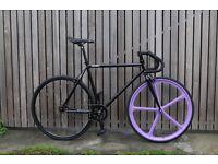 Special Offer GOKU CYCLES Steel Frame Single speed road bike TRACK bike fixed gear fixie bike g3