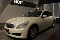 2008 Infiniti G35X Sunroof, Leather, AUX