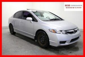 2010 Honda Civic LX+TOIT OUVRANT