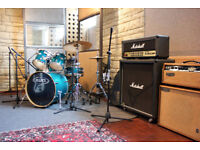 Drum Recording - SPECIAL OFFER - £120 FULL DAY - Music Studio - Recording - Production - Rehearsal