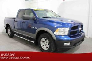 2010 Dodge RAM 1500 4WD QUAD CAB OFF-ROAD TRX4