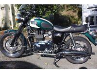 2009 Triumph Bonneville T100 - 865cc. 10450 miles. £4500
