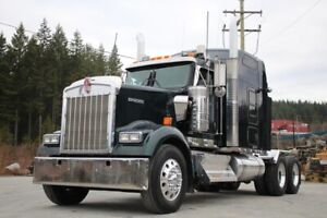 2015 Kenworth W900B Highway Tractor with full Lockers W900B High