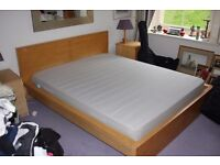 Ikea Bedroom furniture - bed,side tables, chest of drawers
