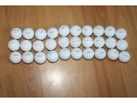 30 used Titleist Pro V1 golf balls in good condition