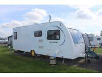 2014 Lunar Quasar 564 touring caravan