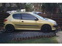 Peugeot 206 52 Plate For Sale/Swap
