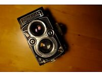 Rolleiflex 3.5F medium format film camera