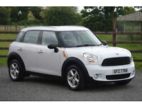 2011 MINI COUNTRYMAN 1.6 PEPPER PACK **ONLY 36000 MILES**