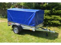 Car Trailer 204x110x27+80cm Cover 7ft Carboot Camping 750kg Delivery Available