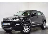 LAND ROVER RANGE ROVER EVOQUE 2.2 SD4 PURE [LEATHER. 4WD] 5d 190 BHP (black) 2013