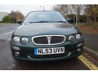 Rover 25 1.4 Very low mileage (33K) MOT until Aug 2017. Excellent runner. Quick sale wanted